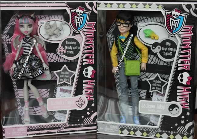 Rochelle Goyle con Roux y Jackson Jekyll con Crossfade ya forman parte de mi colección Monster High