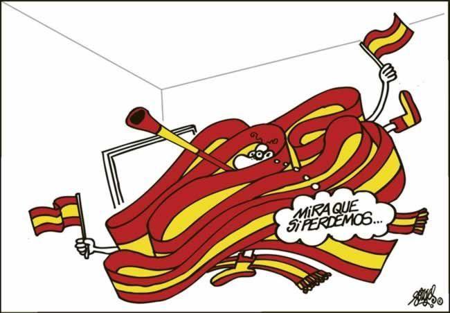 """Viñeta de Forges publicada en """"El País"""" el 27 de junio de 2012"""