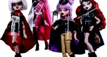 BRATZILLAZ: MGA también se apunta a la moda del Gothic-Chic