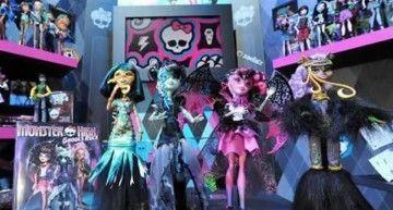 11 nuevos personajes de Monster High en lo que llevamos de año; 2 a punto de salir, y 4 nuevos en las Toy Fair de Alemania y NY