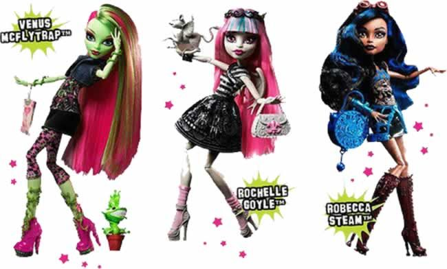 Monster High - Venus Rochelle y Robecca