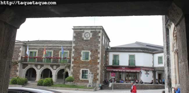 Portomarin (Lugo) - Town Hall / Ayuntamiento