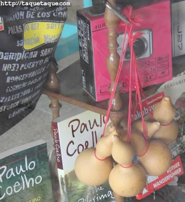 Recuerdos y Souvenirs del Camino de Santiago (Portomarin, Lugo): Calabazas