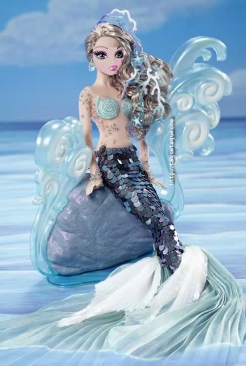 """Draculaura como la Barbie Sirena de colección """"normal"""" que Mattel ha editado recientemente"""