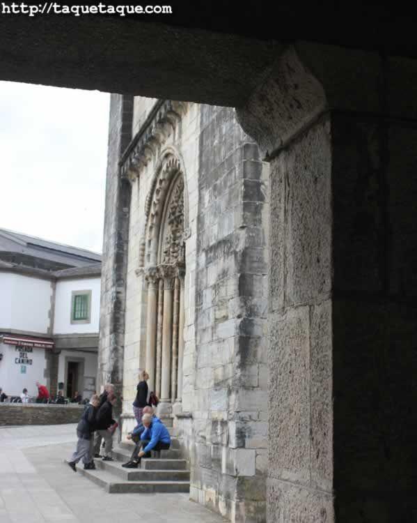 Portomarin (Lugo) - Peregrinos / Pilgrims