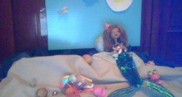 Reto de julio: Caty ha transformado a Clawdeen en una sirena llamada Clawdolenia