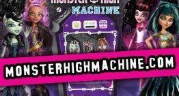 """Podremos ganar regalos monstruosos con la """"MONSTER MACHINE"""" y las """"Ghouls Rule!"""", a partir del 10 de septiembre"""