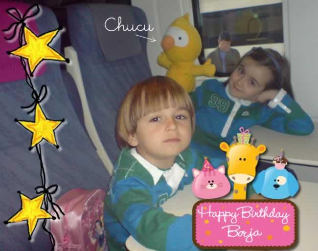 Borja, Paola y Chucu en el Avant (La Coruña - Ourense)