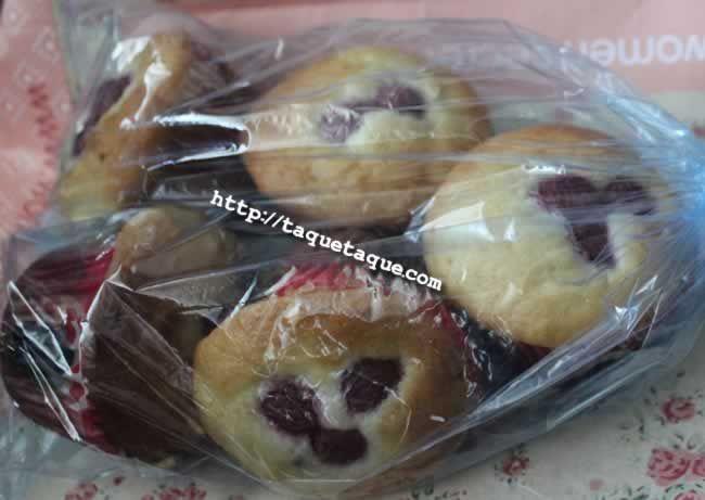 """""""Muffins"""" caseros de frambuesa: son mágicos. ¡Qué chungo lo tienen los homeópatas con mis amig@s!"""