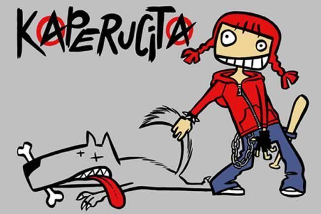 Caperucita Roja. Fuente: Internet