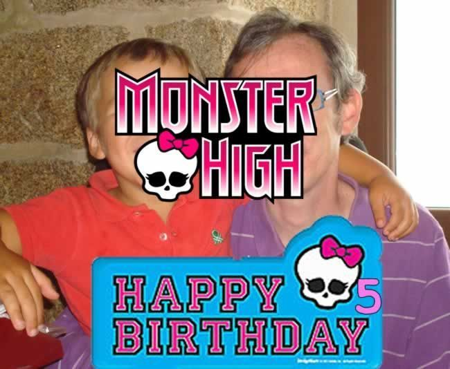 Pedro y su padrino (maridito) - ¡Feliz 5º cumpleaños!