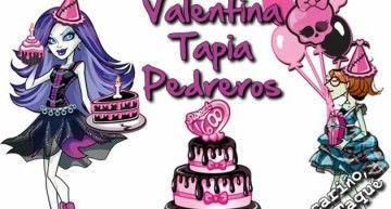 ¡Valentina Tapia Pedreros, Spectra te desea un terrorífico 9º cumpleaños! Y como buena periodista, le encantará publicar fotos de tu fiesta