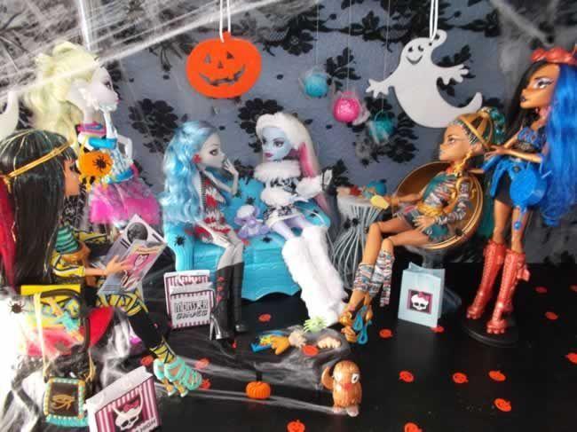 Fiesta DIY de Halloween de Lekim