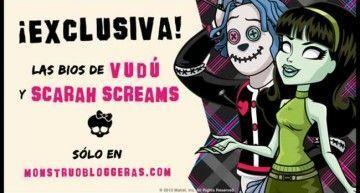 Las biografías de Scarah Screams y Hoodude Voodoo, uno de los muchos posts que tenía sin terminar… || Biographies of Scarah Hoodude Screams and Voodoo, one of the many posts I had not finished …