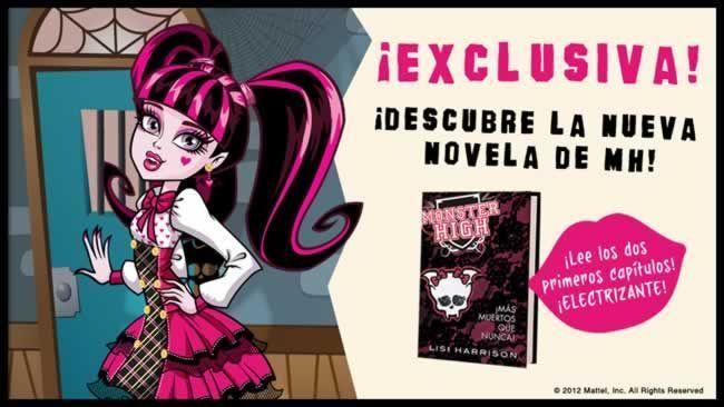 """Descarga los 2 primeros capítulos de la -hasta ahora- última novela de Monster High: """"Más muertos que nunca"""" (Alfaguara)"""
