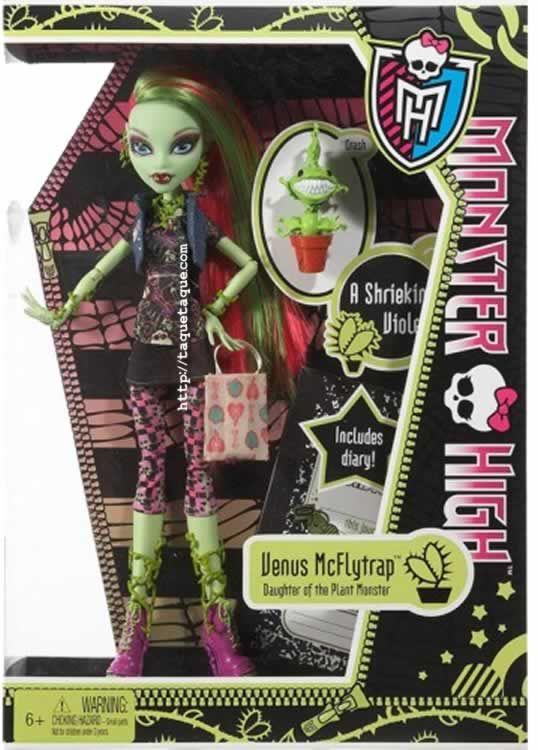 Monster High - Venus McFlytrap, una de las últimas chicas en incorporarse a nuestras colecciones