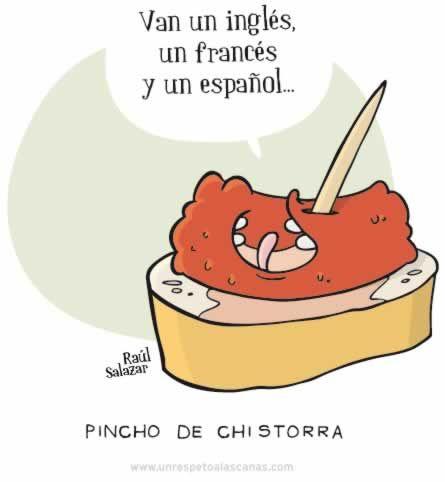Pincho de Chistorra, de Un respeto por las canas