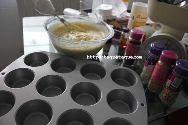 Con las manos en la masa: cupcakes DIY by Taqué-Taqué (¡todavía no he publicado este post!)