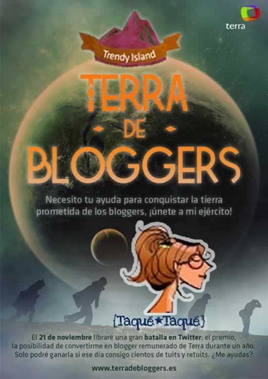 Terra de Bloggers - Taqué-Taqué - Trendy Island