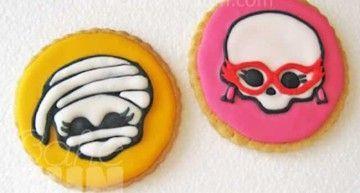 """¿Quieres hacer galletas decoradas de las Monster High? En """"Bake & FUN"""" nos explican cómo. ¡Espero que me enviéis fotos!"""