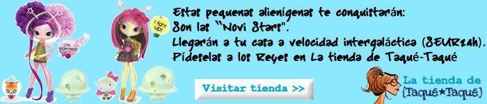 La tienda de Taqué-Taqué: Novi Stars