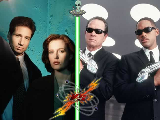 Expediente X vs. Men in Black