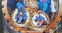 Robecca y Hexiciah Steam SDCC 2016 ya están en mi colección