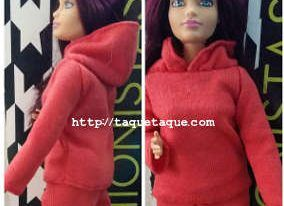 Chandal DIY para Barbie Curvy