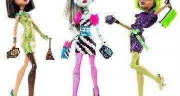 Mis Monster High (I): Frankie, Clawdeen y Cleo Dawn of the dance edition
