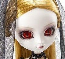 Pullip Vampira: esta sí que es una Pullip gótica (y preciosa!!!)