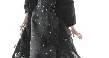 Barbie OOAK DIY designs by Taqué-Taqué (IV): vestido-clón de Philipp Plein