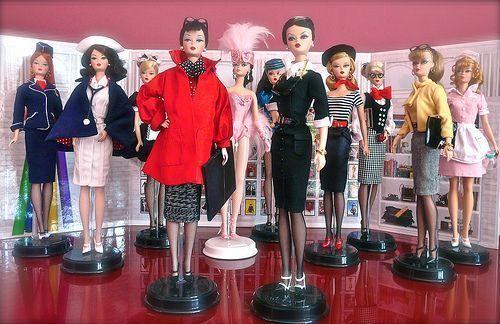 Barbies Silkstone o BFMC (Barbie Fashion Model Collection)
