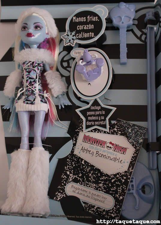 Abbey Bominable, estudiante de intercambio en el instituto de Monster High