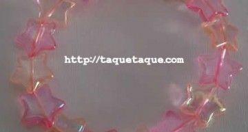 Set de abalorios de Hello Kitty (VIII): pulseras con abalorios nacarados