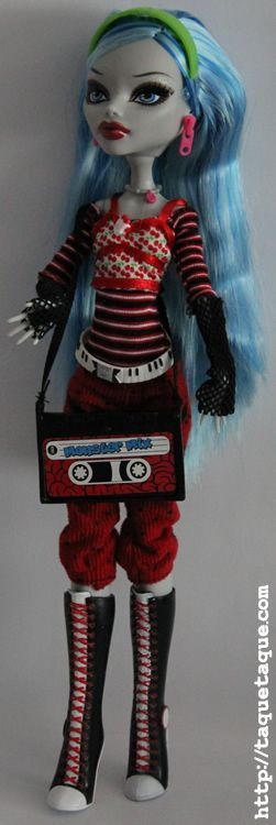 Ghoulia Yelps, la zombie de Monster High