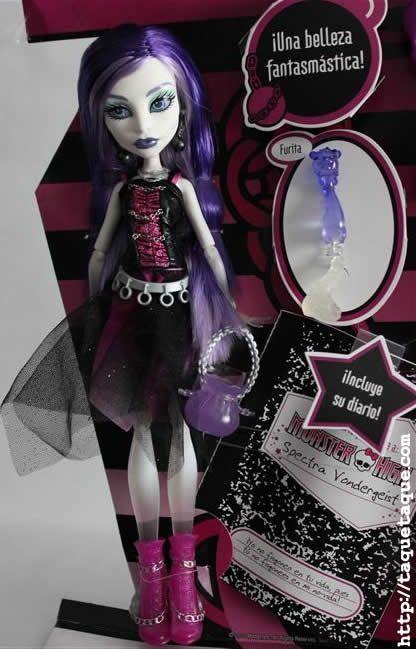 Spectra Vondergeist, una de las nuevas incorporaciones a la lista de personajes de Monster High