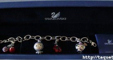 Regalazos de cumpleaños (I): pulsera con charms kawaii de Swarovski
