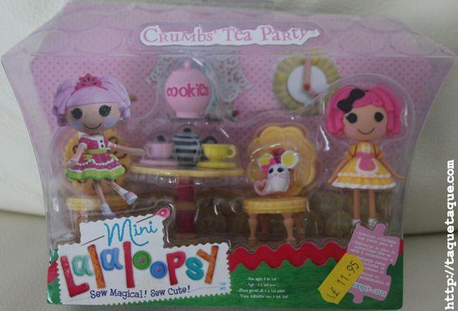 Crumbs' tea party playset (incluye mini Crumbs Sugar Cookie y su mascota)