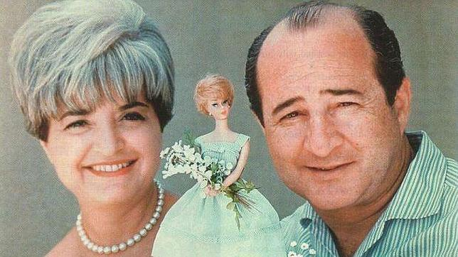 """Elliot y Ruth Handler, """"padres"""" de la muñeca Barbie y de Ken"""
