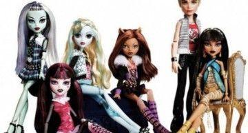 """¿Cuántos personajes de la saga """"Monster High"""" de Lisi Harrison ha convertido Mattel en muñecos/as -hasta ahora-? (1)"""
