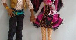 Regalazos de Cumpleaños (III): Monster High – Clawd Wolf y Draculaura. ¿La pareja del verano?