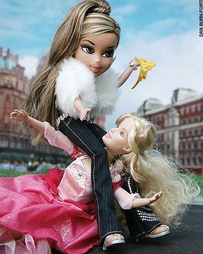 Mattel versus MGA - Barbie y las Bratz se pelean (¿como hermanas?)
