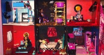 Vuestras fotos, vuestras historias: DRAKU DARMA ha construido una Casa DIY para sus Monster High!!!