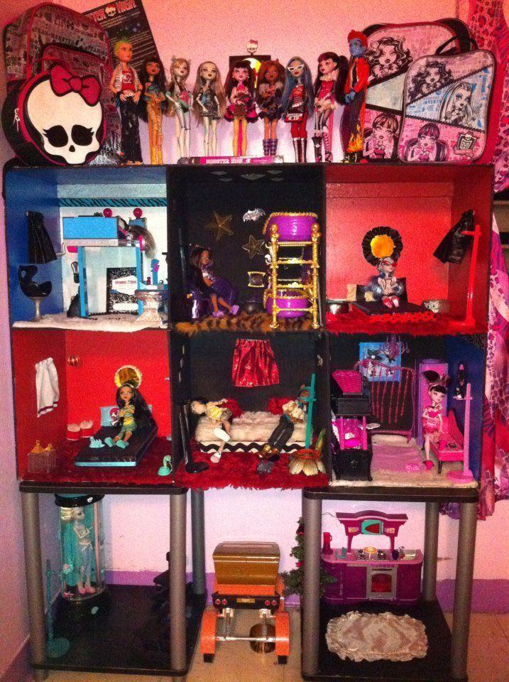 DRAKU DARMA: casa DIY para sus Monster High