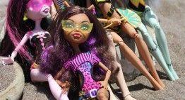 Regalazos de cumpleaños (IV): Monster High – Gloom Beach (los cinco que se venden en España)