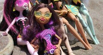 ¿Monster High Gloom Beach Wave 3 en 2012: Abbey, Gil y Lagoona?