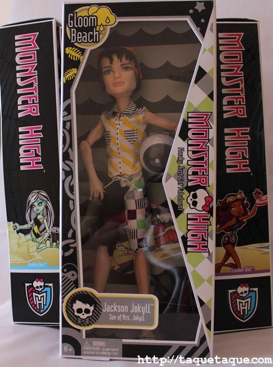Monster High: Jackson Jekyll Gloom Beach