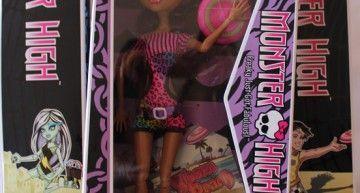 Regalazos de cumpleaños (IV): Monster High – Gloom Beach (2/5): Clawdeen Wolf
