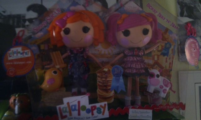 Lalaloopsy Sunny Side Up y Berry Jars 'N' Jam