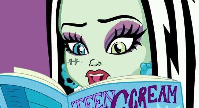 Monster High - episodio 30 volumen 2: Frankie busca consejo en sus revistas